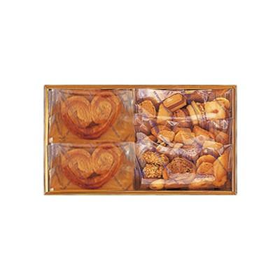 ダブルスイート(箱入り)Double Sweet(中ミミ6個&クッキー3袋) 税込¥3,240(¥3,000) E47箱サイズ 縦17cm✕横30cm✕高5.5cm